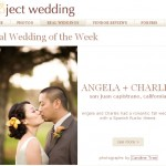 published on project wedding | angela + charles