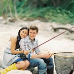 fishing engagement photos | nikki + andrew