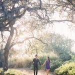 los angeles arboretum engagement photography