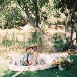 malibu styled engagement photography