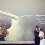 los angeles wedding photography | jen + kevin&#8217;s diy urban travel themed wedding