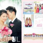 most colorful wedding | ngoc + albert