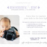 photography workshop for mommy & me