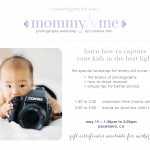 Mommy & Me photography workshop by Caroline Tran