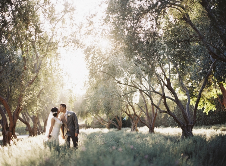 san ysidro ranch wedding photo