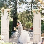 california romantic garden wedding photography