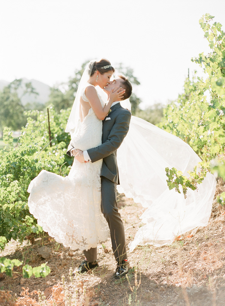 Triunfo Creek Vineyard Wedding by Caroline Tran